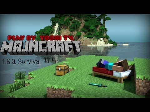 Let's Play / Minecraft 1.6.2 Survival / #4 แลคทั้งเซิฟ !!!