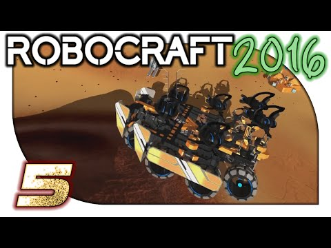 Let's Play Robocraft / Robocraft Gameplay (2016) - 5. Megabot Monolith