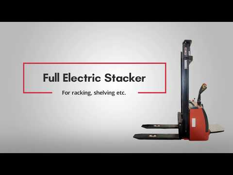 Fully Electric Stacker Functional Video