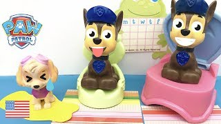 Paw Patrol Full Episodes No More Pee on the Floor Puppies Learn How to Potty Train