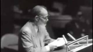 Sir Muhammad Zafrullah Khan (ra) in UN - Short Clips 3/9