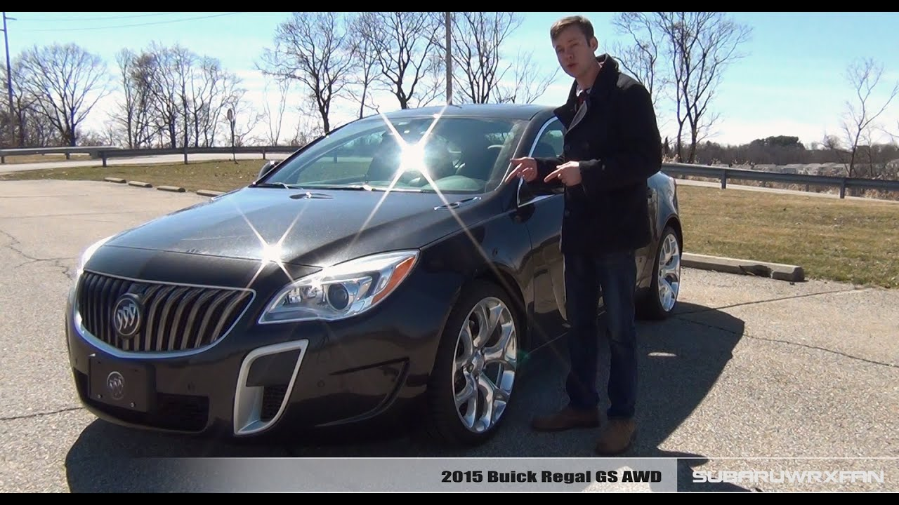 Review: 2015 Buick Regal GS AWD - YouTube