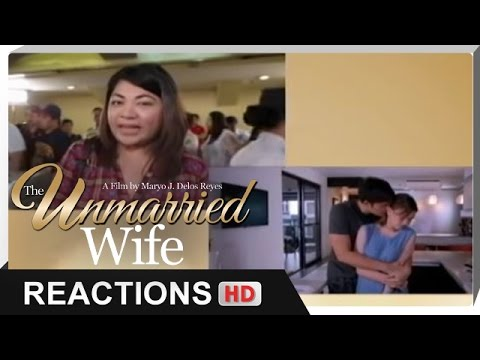 Reactions - Para sa mga nagmahal, nasaktan at nagpatawad. - 'The Unmarried Wife' - 동영상