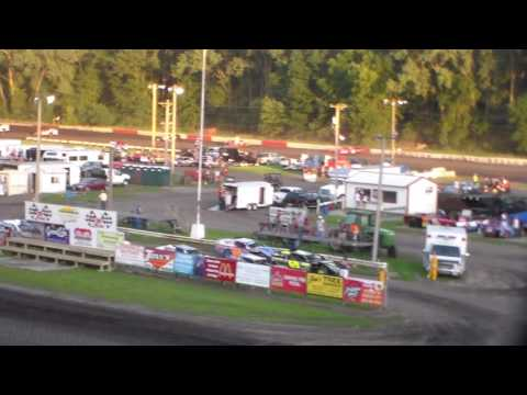 Modified Heat 1 @ Hamilton County Speedway 07/21/16