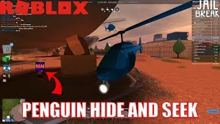 HIDE AND SEEK with NubNeb | CRAZY PENGUINS Roblox Jailbreak