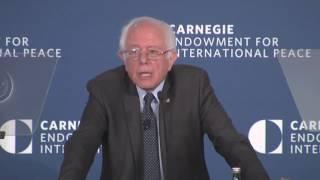 Bernie Sanders: President Trump Is a Threat to American Democracy