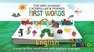 First Words, Learning English over 80 words, from farm animals to family and food