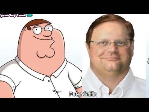 Family Guy Characters In Real Life