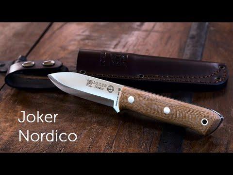 Joker Nordico BS-9 Bushcraft Outdoor Knife - It's No Joke