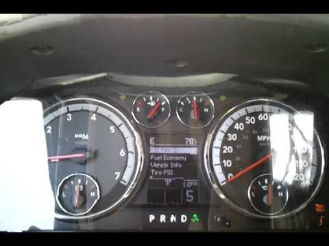 0-60 Dodge Ram 5.7 Hemi