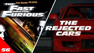 Rejected Cars of The Fast & Furious