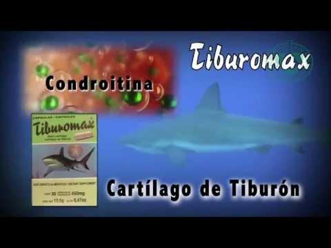 GLUCOSAMINA CON CARTILAGO DE TIBURON
