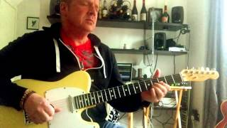 smokin solo dave day letting rip with a cbg blues backing track
