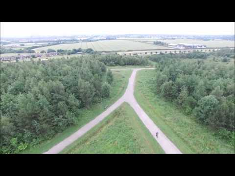 DJI Phantom 3 Professional - The Dream, St Helens Merseyside 400FT