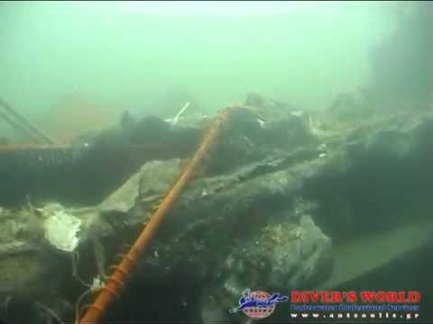 Underwater inspection of 7 Wrecks