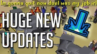 Big Update... Smiting Players FIXED! Duel Arena Staking TAX (OSRS)