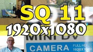 Міні камера SQ11 FullHD як веб камера огляд інструкція Датчик руху , нічна зйомка