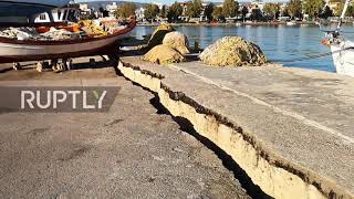 Greece: 6.4 earthquake hits popular holiday island of Zakynthos