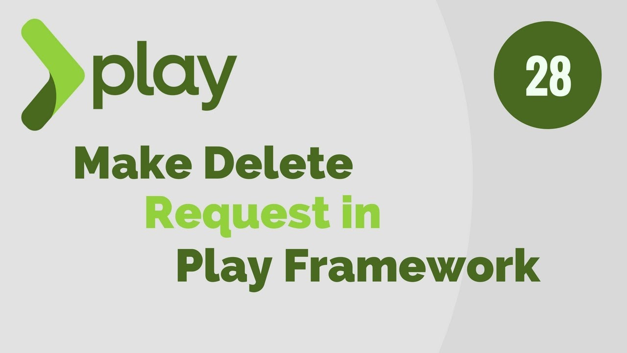 Play Framework Tutorial # 28 Make Delete Request using jQuery in Play Framework