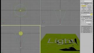 Объемный свет в 3D MAX