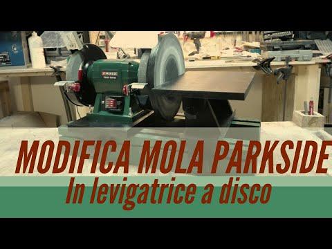 Modificare la mola parkside in una levigatrice a disco 3 for Levigatrice a penna multifunzione parkside