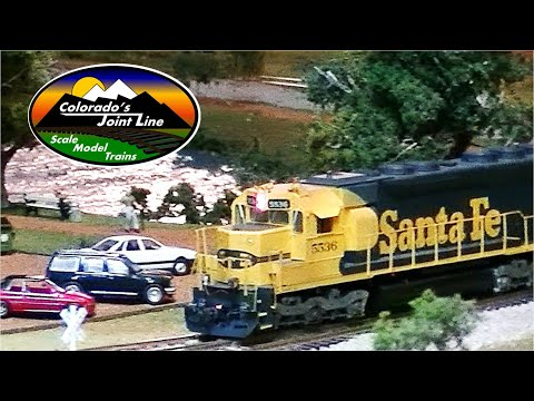 Colorado Joint Line HO Scale Train Layout update #7 (ops session)