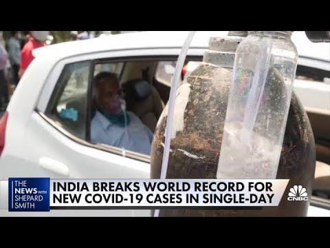 India's healthcare near collapse amid latest COVID wave