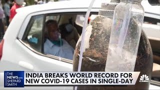 India's healthcare near collapse amid latest wave of Covid-19 cases