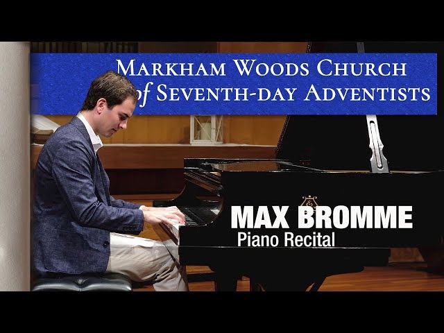 Piano Recital by Max Bromme