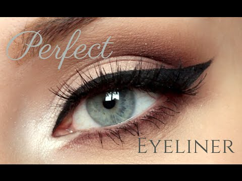 How To Winged Liquid Eyeliner Tutorial For Beginners