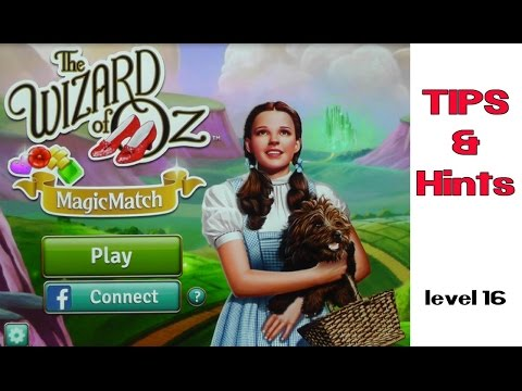 Wizard of Oz Match Three Tips and Hints