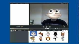 SplitCam 3d эффекты для веб камеры.mp4