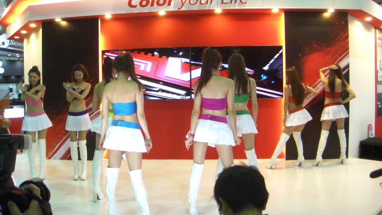 全何科技V-color舞臺活動 - YouTube