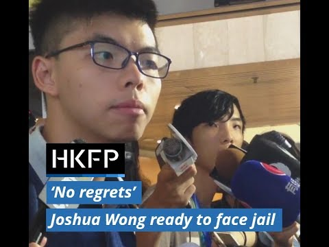 Hong Kong Democracy activist Joshua Wong ready to face jail following Occupy protest