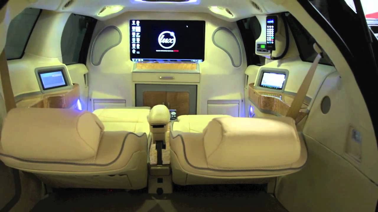 Toyota Sienna Executive Mobile Office Youtube