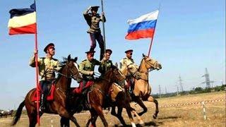 Ойся ты ойся, ты меня не бойся(7 сентября 2014 год Казаки парад ополченцы и бронетехника Перевальск Казачья Национальная Гвардия Всевелико..., 2015-03-21T19:22:33.000Z)