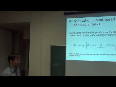 """Mikhail Pavlov """"Efficient Domain Exploration Methods for Reinforcement Learning"""""""
