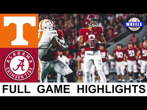 4 Alabama vs Tennessee Highlights  College Football Week 8  2021 College Football Highlights