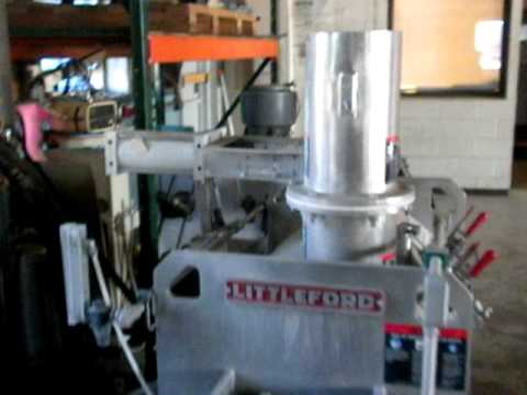 Used- Littleford Day Batch Type Plow Mixer, Model FKM-300-D - Stock# 41270016