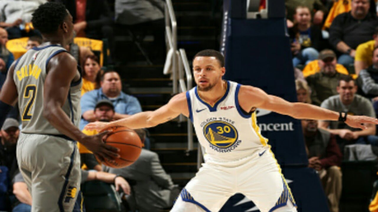 wholesale dealer 43b6b bc932 Indiana Pacers vs Golden State Warriors 1st Half Highlights| 1/28/2019