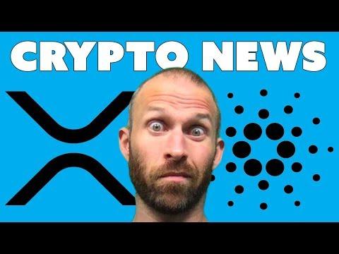 Crypto News Today – XRP, Cardano, etc…