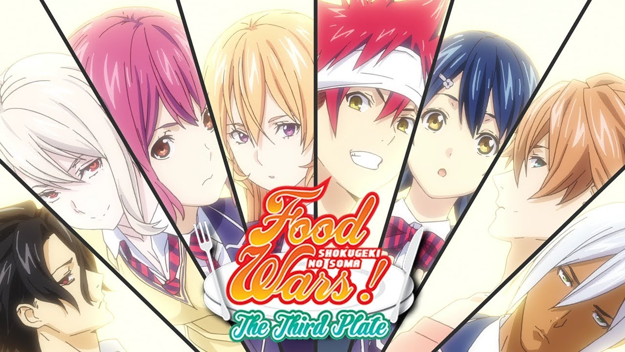 Food Wars! The Third Plate OPENING 1   Braver (HD) - YouTube