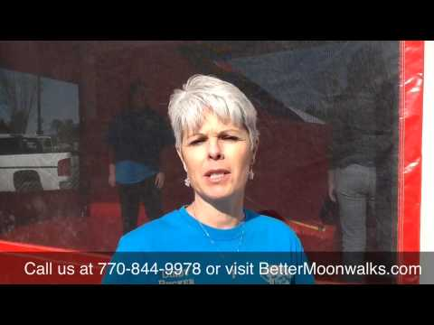 Better Moonwalks of Georgia - Testimonial from Cindy Rucker of Rucker Horse & Pet, Cumming Georgia thumbnail