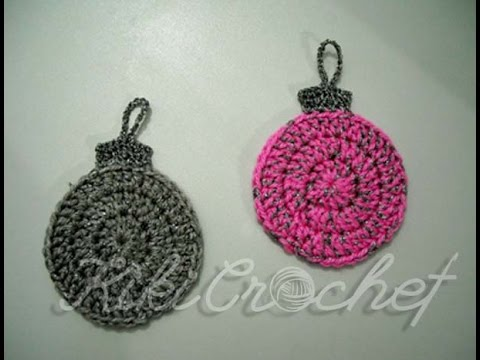 Crochet Christmas Ball Ornaments