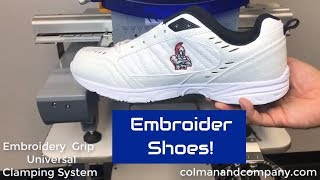 Embroidery Grip with Sneaker - Universal Clamping System