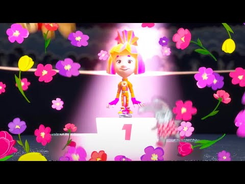 Professional Ice Skater | The Fixies | Cartoons for Children