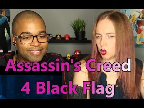 Assassin's Creed 4 Black Flag Official Trailer (HD) (Reaction 🔥)