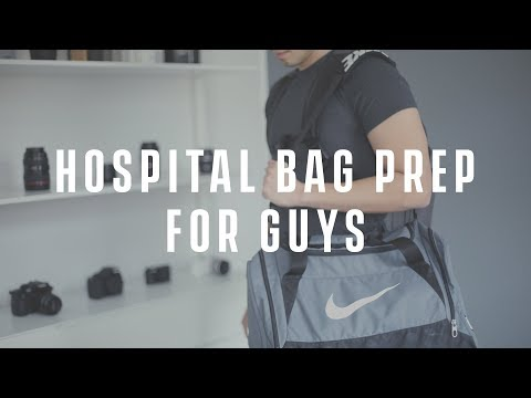 What's in My Hospital Bag 2018 (Dad/Guys Edition)