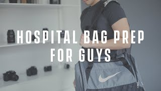 What\'s in My Hospital Bag 2018 (Dad/Guys Edition)