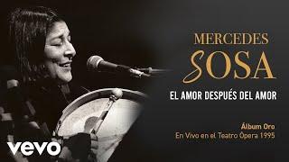 Mercedes Sosa - El Amor Después Del Amor (En Directo / Teatro Ópera Diciembre 1995)